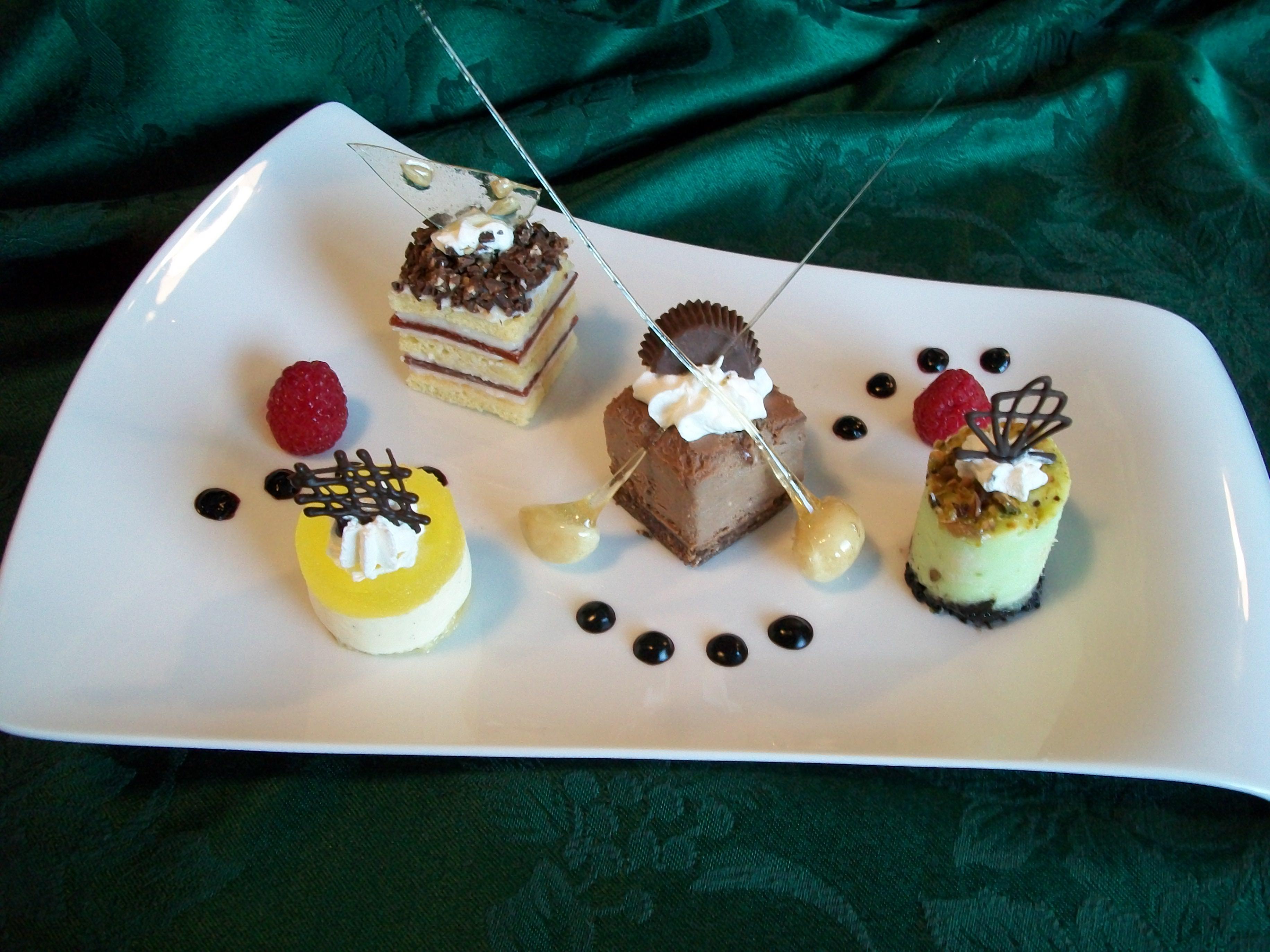 Pastry Challenge Welch Vs Warnesky Deep Plate