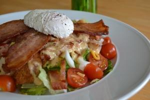 June 13 Exercise - BLT Salad, Smoky Chili Dressing (2)